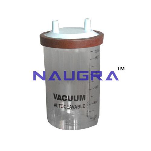 Suction Autoclave Jar