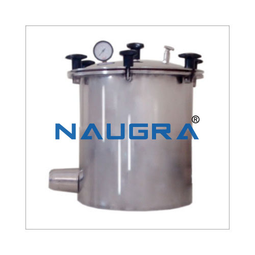 Single Drum Autoclave from India