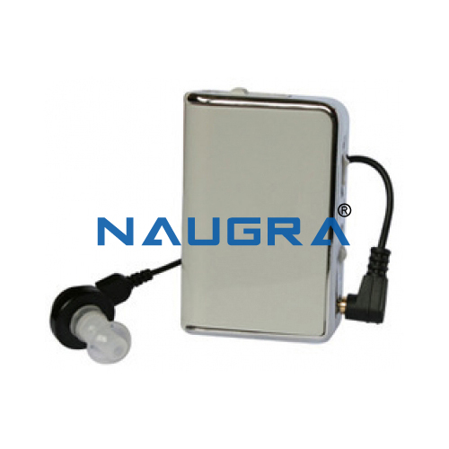 Pocket Hearing Aid from India