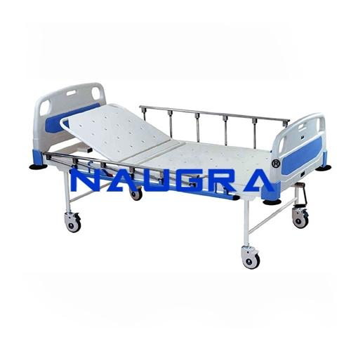 Hospital Bed(four Section), deluxe(With ABS Head & Foot panels)