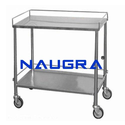 Instrument Trolley - All Stainless Steel
