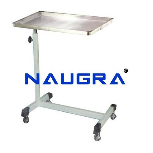 Mayo Type Trolley, Height Adjustable