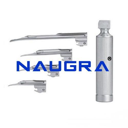 Miller Type Reusable Fibre Optic Laryngoscope Blade