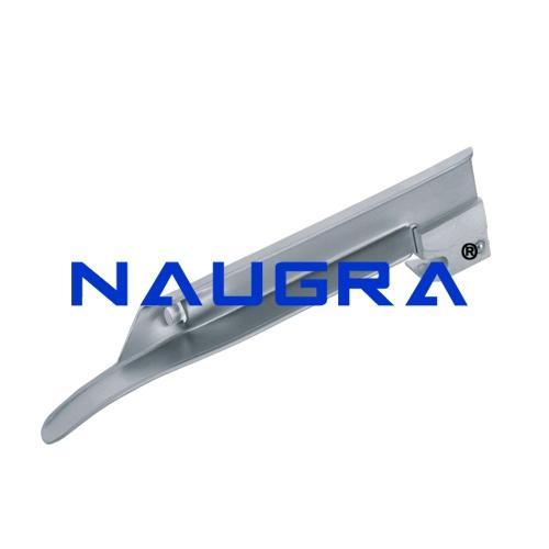 Miller Type Straight Laryngoscope Blades - Stainless Steel (Satin/Dull Finish)