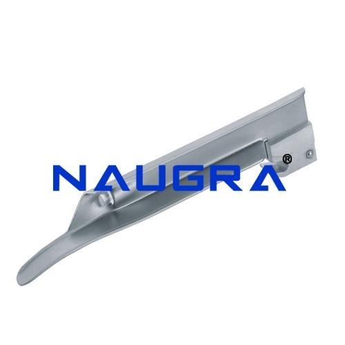 Miller Type Straight Laryngoscope Blades - Stainless Steel (Polished Finish)