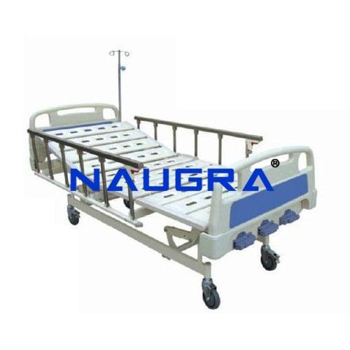 ICU Bed Manual Back Rest 3 Function