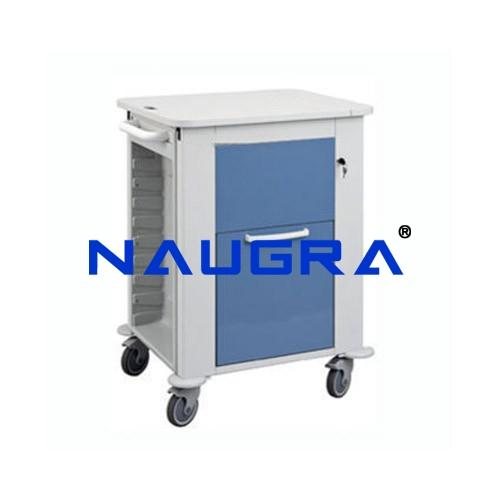 Trolley For Records, Epoxy Steel