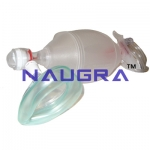 Artificial Resuscitator (Ambu Type Bag), Silicone, Autoclavable - Deluxe Quality (Adult)