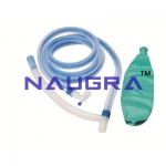 Artificial Resuscitator (Ambu Type Bag), Silicone, Autoclavable - Deluxe Quality - (Child)